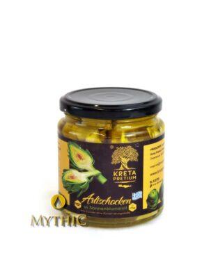 Artischockenherzen in sonnenblumenöl