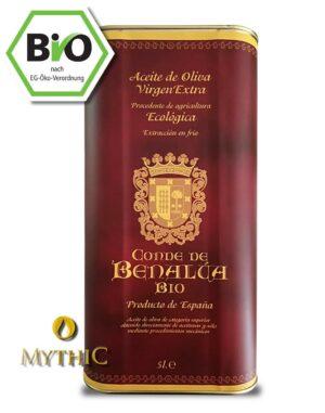 BIO OLIVENÖL EXTRA VERGINE - CONDE DE BENALÚA Spanien 5 liter