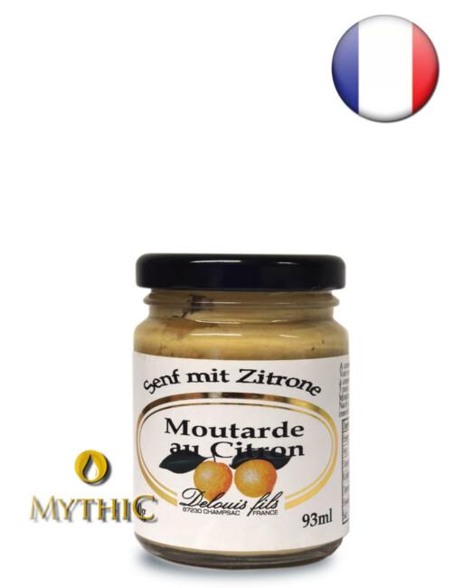 Moutarde Au Citron - Senf Mit Citrone - Delouis Fils 100G