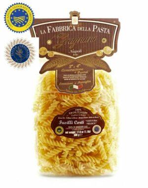 FUSILLI CORTI La Fabricca della Pasta di Gragnano