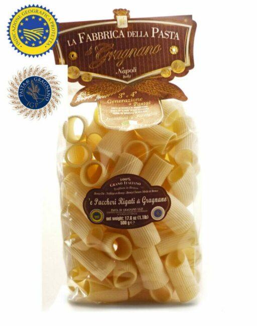 Rigati Pacheri La Fabricca Della Pasta Di Gragnano