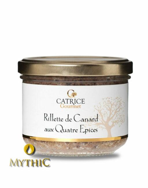 Rillette De Canard Mit Gewürzen/ Entenrillette Aus Der Provence