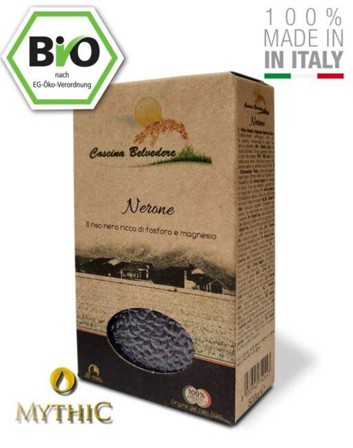 Schwarzer Reis Cascina Belvedere Nerone Bio Organischer Anbau
